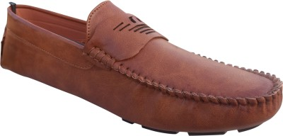 0f3224cd130 3 WOLVES Penny Loafers For Men(Tan)