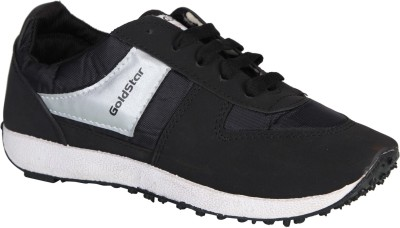 S.M. GOLD STAR Training & Gym Shoes For Men(Black)  available at flipkart for Rs.499