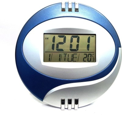 Jeeya Digital (Multicolor )Alarm Calendar Thermometer Table Desk Wall (Pack of 1) Clock  available at flipkart for Rs.699
