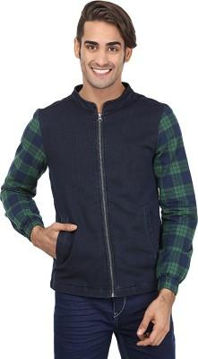REEBOK Full Sleeve Checkered Men Jacket