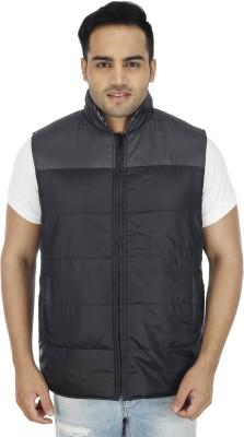 SOC Sleeveless Checkered Men's Jacket