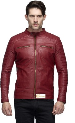 Lambency Full Sleeve Solid Men Jacket at flipkart