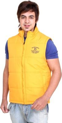 Trufit Sleeveless Solid Men's Bomber Jacket