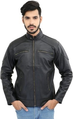 CP Club Full Sleeve Solid Men's Jacket at flipkart