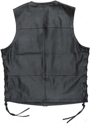 KAVACI Sleeveless Solid Men's Jacket at flipkart