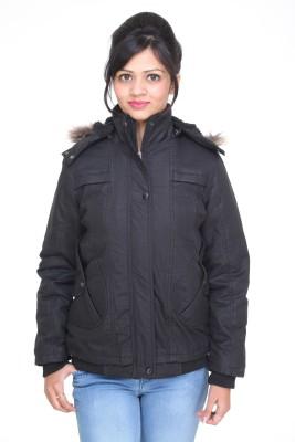 TRUFIT Full Sleeve Solid Women Bomber Jacket TRUFIT Women's Jackets