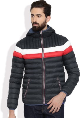 Harvard Full Sleeve Solid Men Jacket at flipkart