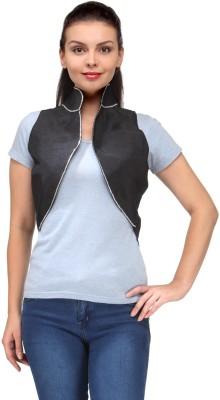 Natty India Sleeveless Solid Women's Koti Jacket  available at flipkart for Rs.699