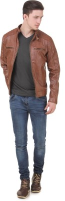 Zipper Full Sleeve Solid Men Jacket at flipkart