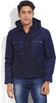 United Colors of Benetton Full Sleeve Solid Men Jacket at flipkart