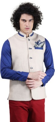 Skoosh Sleeveless Solid Men's Jacket