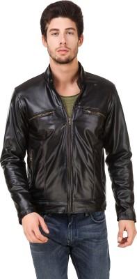 Leinwand Full Sleeve Self Design Men Jacket at flipkart