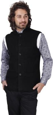 Dhrohar Sleeveless Solid Men's Woolen Jacket