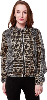 Oxolloxo Full Sleeve Printed Women Jacket at flipkart