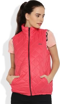 Harvard Sleeveless Solid Women Jacket at flipkart