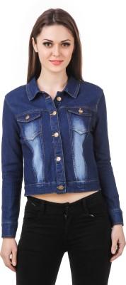 Subu Full Sleeve Solid Women Denim Jacket