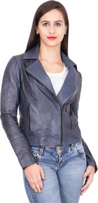 Justanned Full Sleeve Solid Women Jacket at flipkart