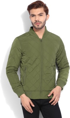 United Colors of Benetton Full Sleeve Solid Men's Quilted Jacket at flipkart