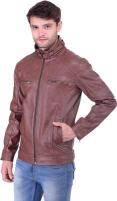 Tej Star Full Sleeve Solid Men's Jacket