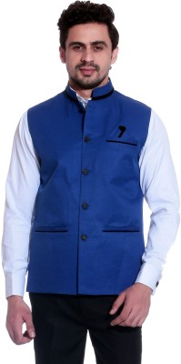 Calibro Sleeveless Solid Men Jacket at flipkart