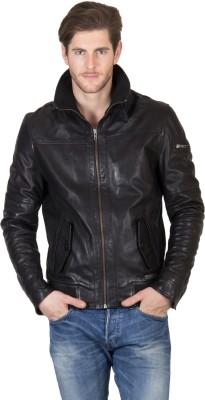Justanned Full Sleeve Solid Men Jacket at flipkart