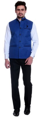 Alnik Sleeveless Solid Men's Jacket