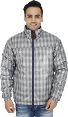 SOC Full Sleeve Checkered Men's Jacket