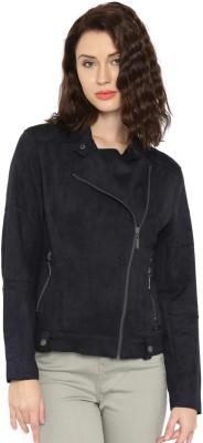 Mast & Harbour Full Sleeve Solid Women Jacket at flipkart