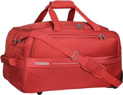 American Tourister 22 inch/55 cm (Expandable) Marco Travel Duffel Bag(Red)