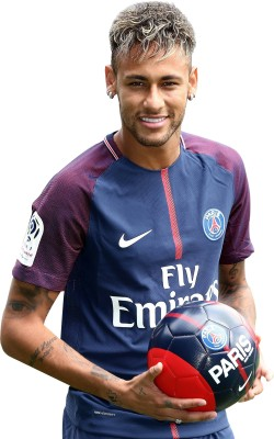 KumkumArts Neymar Poster 12 x 18 Inch HD Quality Material Gloss Paper Paper Print(18 inch X 12 inch, Rolled)