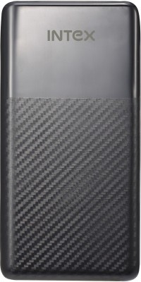 Intex IT-PB15K Poly Power Bank, 15000 mAh (Black)