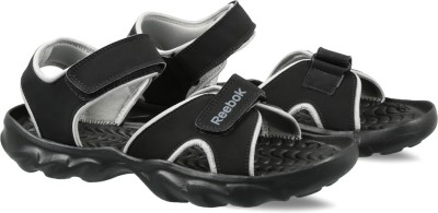 REEBOK Men BLACK/LIGHT GREY Sports Sandals
