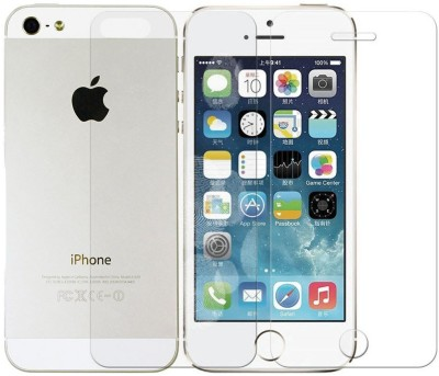 Ipackk Front and Back Screen Guard for Apple iPhone 5s
