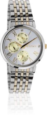 Titan 2569BM02  Analog Watch For Women