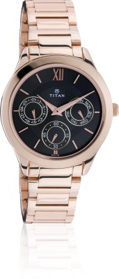 Titan 2570WM01  Analog Watch For Women