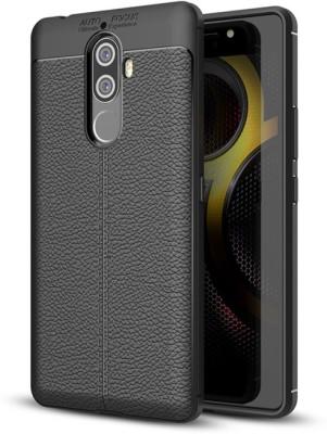 Micvir Back Cover for Lenovo K8 Plus(Black, Rugged Armor, Rubber, Plastic)