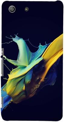 Snapdilla Back Cover for Sony Xperia M5 Dual, Sony Xperia M5 E5633 E5643 E5663(Multi Colour Modern Art Abstract Paint Animated Mobile Cover, Plastic)