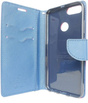 G case Flip Cover for Mi A1 Pink, Grip Case