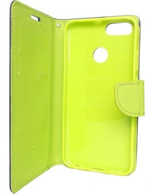 G case Flip Cover for Mi A1 Blue, Grip Case