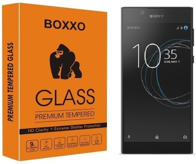 Boxxo Tempered Glass Guard for Sony Xperia L1(Pack of 1)
