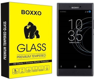 Boxxo Tempered Glass Guard for Sony Xperia R1 Plus(Pack of 1)