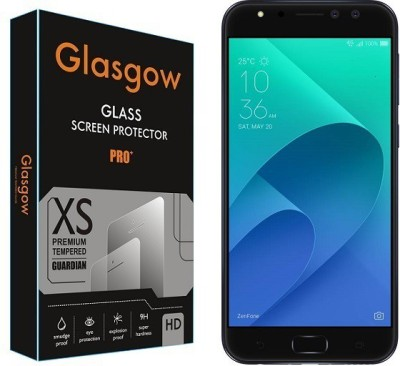 Glasgow Tempered Glass Guard for Asus Zenfone 4 Selfie Pro(Pack of 1)