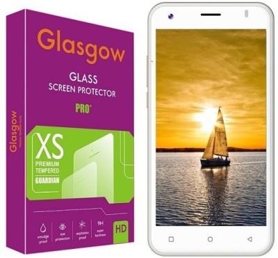 Glasgow Tempered Glass Guard for iVooMi Me5(Pack of 1)