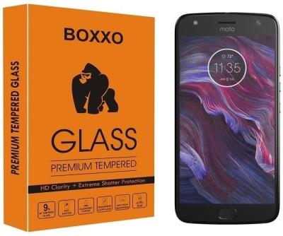 BIZBEEtech Tempered Glass Guard for Motorola Moto X4(Pack of 1)