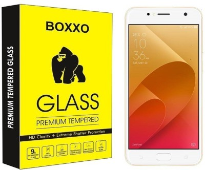 Boxxo Tempered Glass Guard for Asus Zenfone 4 Selfie ZB553KL(Pack of 1)