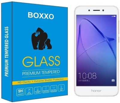 Boxxo Tempered Glass Guard for Honor Holly 4 Plus(Pack of 1)