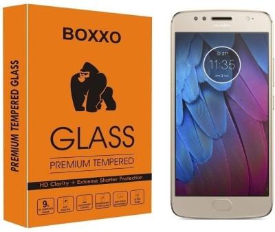 Boxxo Tempered Glass Guard for Motorola Moto G5s(Pack of 1)