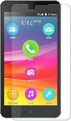 AmericHome Tempered Glass Guard for Micromax Canvas Amaze Q395(Pack of 1)
