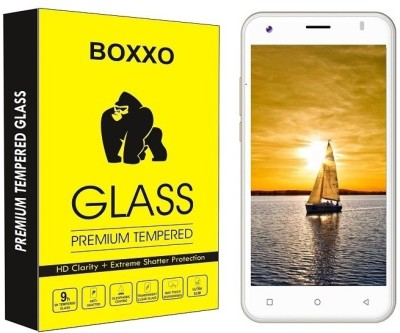 Boxxo Tempered Glass Guard for iVooMi Me5(Pack of 1)