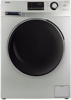 Haier 7 kg Fully Automatic Front Load Washing Machine with In-built Heater Grey(HW70-B12636NZP)